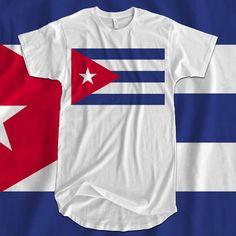 Iron On T-Shirt Transfer Print National Flag Cuba