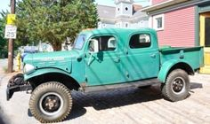 1946 Dodge Power Wagon Crew-cab.  What an awesome truck.