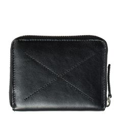 Status Anxiety Darius Leather Wallet - Black