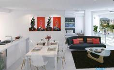 Image from http://bilvil.com/wp-content/uploads/2012/11/8-red-white-black-decor.jpeg.