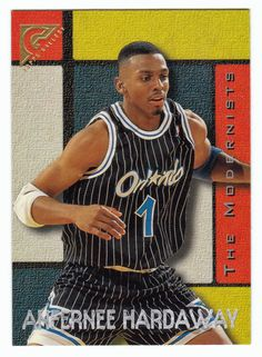 Anfernee Hardaway # 19 - 1995-96 Topps Gallery Basketball Basketball Cards, Basketball Players, Nba News, New Star, Memphis, Trading Cards, Mint, Sky, Gallery