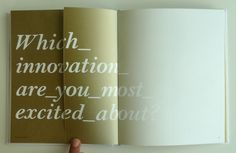 Think Quarterly, the Innovation Issue