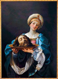 Guido Reni • Salomè con la testa del Battista,, 1638-39