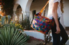 What a fabulous bag! Looks comfortable and cute | Large Bags – Humble Hilo | Creating a Common Thread