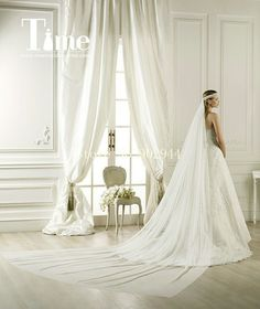 Chiffon Bridal Veil