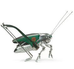 Edouard Martinet's Metal Animals Sculptures