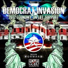 """VOTE 4 OBAMA also get the youth voice anthem """"Democrat Invasion"""" at Itunes over 10,000 have downloaded  this track, get yours! Follow us @Digiprozs Twitter The Voice, You Got This, Itunes, Obama, Cover, Artist, Artwork, Movie Posters, Youth"""