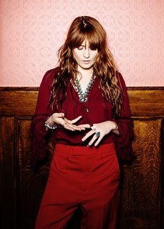 """trevorgunn:  """"This new album comes from a quieter place, one that is less grand and more vulnerable, and it wouldn't feel right to try to put up walls again. Although I love all that fashion stuff, it is also a way of guarding myself. I decided fuck it, it was time to let it all go.""""  Florence Welch: The Billboard Cover Shoot"""