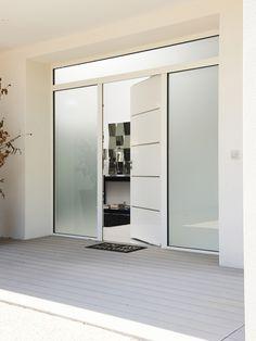 porte d 39 entr e en aluminium cotim 11 par zilten. Black Bedroom Furniture Sets. Home Design Ideas
