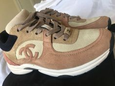 302b6b2b463 SOLD OUT SUEDE CHANEL SNEAKERS - size 5.5 in perfect condition  fashion   clothing