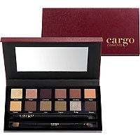 Part of Cargo Cosmetics Holiday 2015 Collection is The 'Venice Enchantment Eye Shadow Palette' ~ The palette is has 12 wearable shades, 1 Eye Pencil in Black and 1 Dual Ended Brush. Makeup Palette, Eyeshadow Palette, Party Makeup, Eye Makeup, Black Eyeliner Pencil, Cargo Cosmetics, Eye Palettes, Color Magic, Eyeshadow Brushes