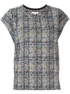 IRO 'Eline' tweed top. #iro #cloth #top