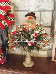 Visit the post for more. Christmas Floral Arrangements, Christmas Table Centerpieces, Xmas Decorations, Flower Arrangements, Winter Christmas, Christmas Holidays, Christmas Wreaths, Christmas Ornaments, Rustic Christmas