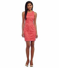 Vince Camuto Lace Sheath Dress #Dillards