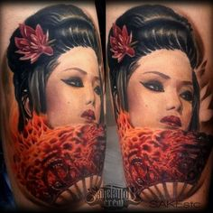 Sake - Realistic Portrait & Color Realism Tattoos - Sake Tattoo Crew