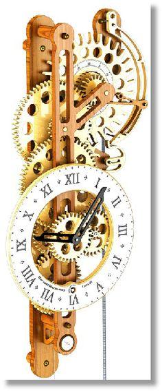 Wooden gear clock....A must do project