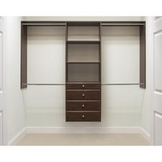 Martha Stewart Living 14 In. D X 96 In. W X 72 In. H Espresso Ultimate Wood  Closet System Kit. Home Depot ...