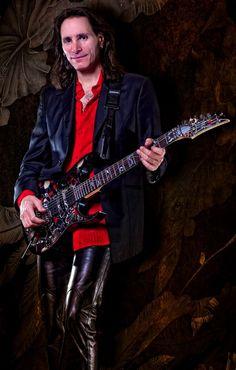 Awesome pic of Steve Vai Bass, Joe Satriani, David Lee Roth, Eric Johnson, Steve Vai, Best Guitarist, Famous Musicians, Ozzy Osbourne, Him Band