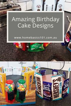 With a little know how you can make great looking amazing cakes for your family and friends Milk Duds, Cool Cake Designs, Cool Birthday Cakes, Savoury Recipes, Amazing Cakes, Fudge, Sweet Recipes, Sweet Treats, Entertaining
