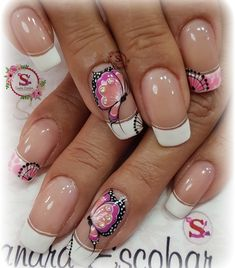 Nail Techniques, Butterfly Nail Art, Diy Nail Designs, Bling Nails, Flower Nails, Gorgeous Nails, French Nails, Christmas Nails, Toe Nails
