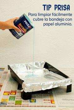 Salva tus espacios y optimiza la labor de limpieza con estas precauciones al pintar.