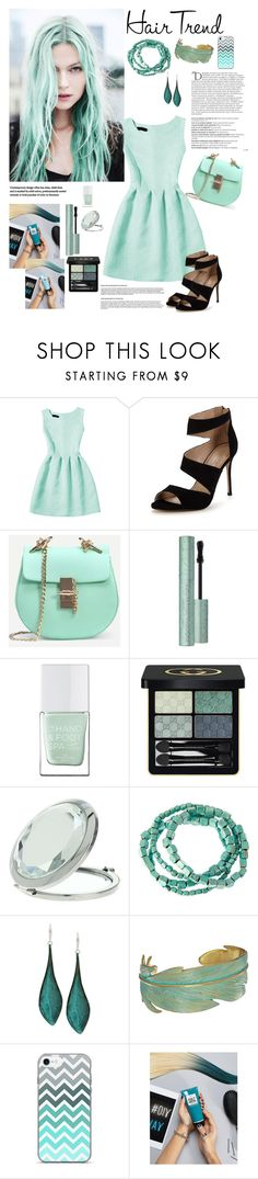 """Senza titolo #5876"" by waikiki24 ❤ liked on Polyvore featuring beauty, Carvela, Too Faced Cosmetics, The Hand & Foot Spa, Gucci, Miss Selfridge, Balmain, Natasha, Robert Lee Morris and Lucky Brand"