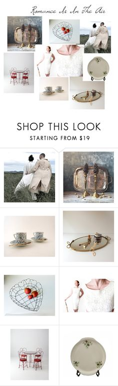 Romance Is In The Air by beejaykay on Polyvore featuring interior, interiors, interior design, home, home decor, interior decorating, Parlor, vintage and VintageAndMain