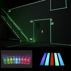 luminescent on pinterest glow dark and electroluminescent wire. Black Bedroom Furniture Sets. Home Design Ideas