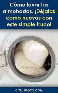 How to wash the pillows. Leave them as new with this simple trick! - Home Cleaning Tips