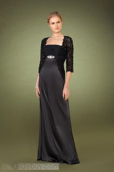 Delicated Crystal Sheath Strapless Floor-Length Dresses