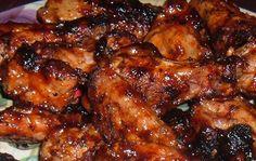 Sweet -hot tai chicken wings  http://www.food.com/recipe/chicken-wings-with-thai-sweet-hot-chili-glaze-137923