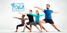 3 Week Yoga Retreat Is Now Here!  -  good for beginners, teaches some basic yoga though dvd.  want to try.      lj