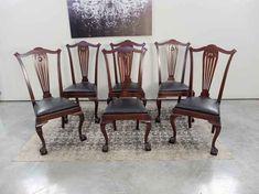 Antique Dining Chairs, Victorian, Antiques, Furniture, Beautiful, Design, Home Decor, Antiquities, Antique