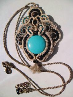 Turquoise pendant 2 - Handmade Wonderland