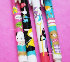 Stylo kawaii - papeterie kawaii de www.chezfee.com