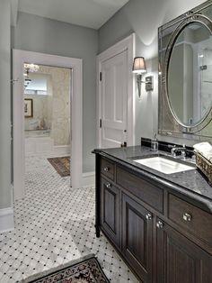 Bathroom Paint Tile Design, Pictures, Remodel, Decor and Ideas - page 10