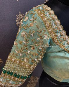 sarees and blouse design Try talking to a professional landscaper to see if you can get the info out Blouse Designs Catalogue, Stylish Blouse Design, Fancy Blouse Designs, Bridal Blouse Designs, Blouse Neck Designs, Sleeve Designs, Zardosi Embroidery, Embroidery Blouses, Embroidery Suits
