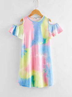 Cute Girl Dresses, Girls Casual Dresses, Kids Outfits Girls, Cute Girl Outfits, Girls Fashion Clothes, Teen Fashion Outfits, Cute Casual Outfits, Kids Fashion, Girls Knitted Dress