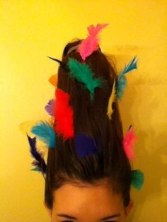 crazy hair day ideas for girls | ... idea for a crazy hair day at school!! All u have ... | Hair Styl