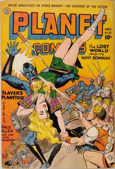 """Dedicated to all things """"geek retro:"""" the science fiction/fantasy/horror fandom of the past including pin up art, novel covers, pulp magazines, and comics. Sci Fi Comics, Fantasy Comics, Old Comics, Vintage Comics, Science Fiction Magazines, Science Fiction Art, Old Comic Books, Comic Book Covers, Caricature"""