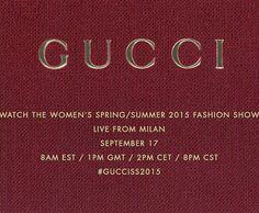 A pegada da Gucci na primavera-verão 2015 masculina é navy, mas será que Frida Giannini... Mais