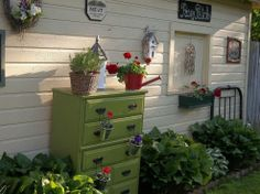 WE LOVE THIS!   Find chest of drawers at Salvation Army Family Stores and repurpose this cute garden idea.  www.thesalvationarmyhorrycounty.com