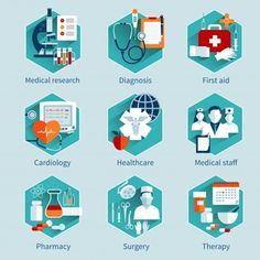 Buy Medical Concepts Set by macrovector on GraphicRiver. Medical concepts set with research diagnosis first aid icons isolated vector illustration. Editable EPS and Render in. Health Icon, Health Care, Medical Icon, Hospital Design, Clinic Design, Licence Lea, Doctor Gifts, Business Illustration, Vector Photo
