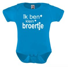 Ik ben klein broertjes, Romper bedrukken, t-shirt bedrukken, naam drukken, bedrukte kinderkleding, baby kleding, kraamkado, bedruk een shirt, ik ben klein broertje, broer, zusje