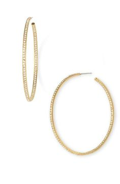 It's all about the sparkle | Hoop Earrings