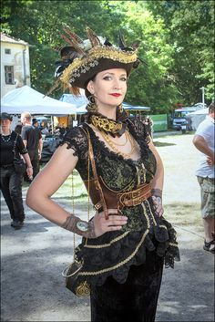 Steampunk Pirate at the WGT by S-T-A-R-gazer on deviantART
