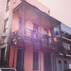 Cool #neworleans house in the French quarter #nola