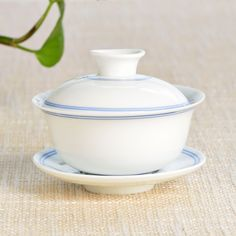 Double Blue Lines Gaiwan - 110 ml