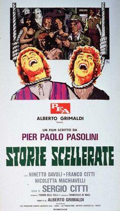 Storie scellerate , Italy 1973 , di Sergio Citti ; con Ninetto Davoli , Franco Citti , Nicoletta Machiavelli   .  /// il film appartiene al filone Decamerotico , sottogenere della commedia-sexy all'italiana. ///