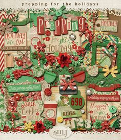 Prepping For The Holidays | Shabby Miss Jenn Designs